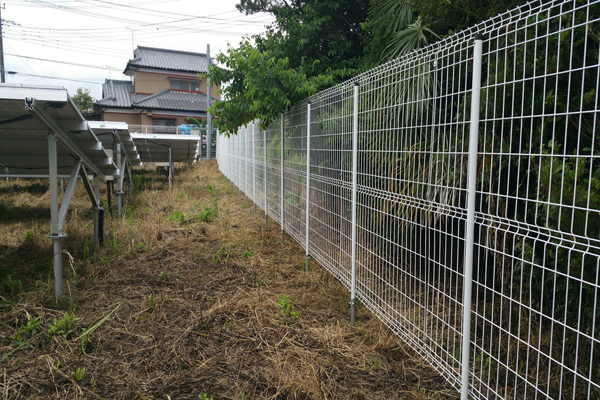 Solar Mounting Fences
