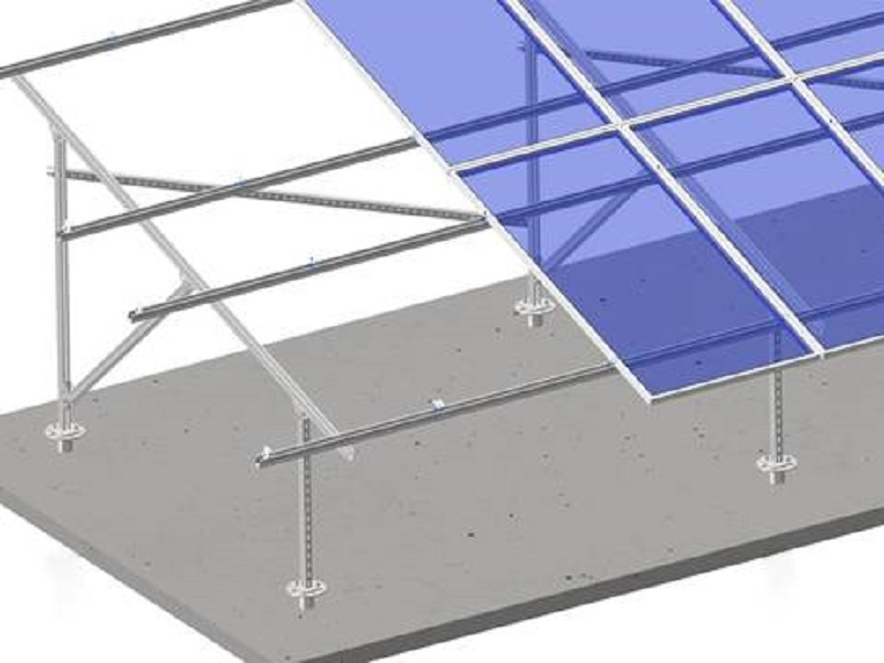 Steel Solar Mounting Structures